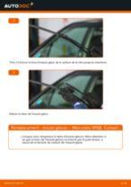 Comment changer : essuie-glaces avant sur Mercedes W168 essence - Guide de remplacement