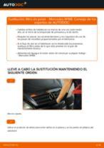 Cómo cambiar: filtro de polen - Mercedes W168 gasolina   Guía de sustitución