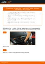 DIY käsiraamat Lisakomplekt, Ketaspidurikate asendamiseks VOLVO V70 2020