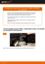 Come cambiare dischi freno della parte anteriore su Mercedes W168 benzina - Guida alla sostituzione