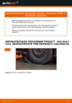 Πώς αλλαγη Τακάκια Φρένων πίσω και εμπρος ALFA ROMEO 147 - εγχειριδιο online
