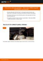 Tutorialul etapizat în format PDF pentru înlocuirea Cilindru receptor frana la Mazda 3 bk