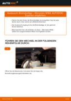 Auswechseln Stützlager MERCEDES-BENZ A-CLASS: PDF kostenlos