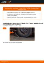 Hoe wiellager achteraan vervangen bij een Mercedes W168 benzine – Leidraad voor bij het vervangen