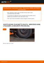 Come cambiare cuscinetto ruota della parte anteriore su Mercedes W168 benzina - Guida alla sostituzione