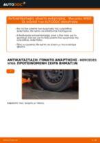 Αλλαγή Αμορτισέρ MERCEDES-BENZ A-CLASS: δωρεάν pdf