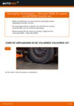 Tips van monteurs voor het wisselen van MERCEDES-BENZ Mercedes W168 A 170 CDI 1.7 (168.009, 168.109) Remschoenen