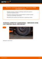 Instrukcja warsztatu dla Mercedes W126