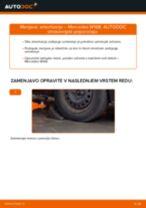 Zamenjavo Blažilnik MERCEDES-BENZ A-CLASS: brezplačen pdf
