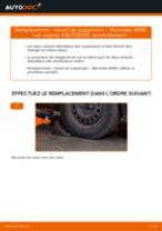 Montage Ressort MERCEDES-BENZ A-CLASS (W168) - tutoriel pas à pas