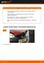 Udskift pollenfilter - Opel Corsa S93 | Brugeranvisning