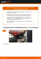 Jak wymienić filtr kabinowy w Opel Corsa S93 - poradnik naprawy
