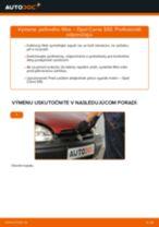 Ako vymeniť filter vnútorného priestoru na Opel Corsa S93 – návod na výmenu