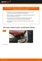 Como mudar filtro habitáculo em Opel Corsa S93 - guia de substituição