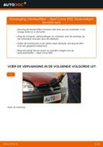 Interieurluchtfilter vervangen OPEL CORSA: gratis pdf