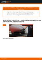 Luftfilter selber wechseln: Opel Corsa S93 - Austauschanleitung