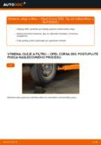 Príručka o výmene Olejový filter v OPEL CORSA vlastnými rukami
