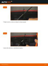 Ako vykonať výmenu: Stieracia liżta na 1.0 i 12V (F08, F68, M68) Opel Corsa S93