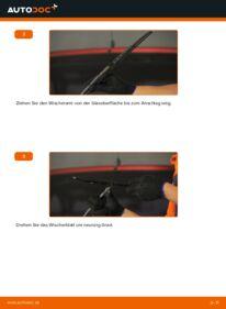 Wie der Wechsel durchführt wird: Scheibenwischer 1.0 i 12V (F08, F68, M68) Opel Corsa S93 tauschen