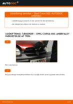 Udskift tændrør - Opel Corsa S93 | Brugeranvisning