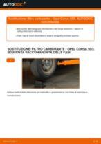 Come cambiare filtro carburante su Opel Corsa S93 - Guida alla sostituzione