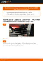 PDF manuale di sostituzione: Candele motore OPEL Corsa B Hatchback (S93)