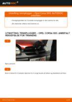 Hvordan bytte og justere Hovedlykter OPEL CORSA: pdf håndbøker