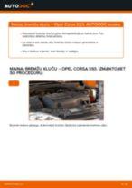 Kā mainīties Bremžu Kluči Opel Diplomat B - remonta rokasgrāmata PDF