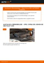 Beheben von Problemen mit OPEL Bremsbeläge Keramik mit unserer Anweisung