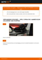 Hoe bougies vervangen bij een Opel Corsa S93 – vervangingshandleiding