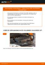 Hoe remschijven vooraan vervangen bij een Opel Corsa S93 – vervangingshandleiding