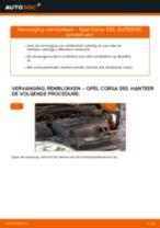 Hoe remblokken vooraan vervangen bij een Opel Corsa S93 – vervangingshandleiding