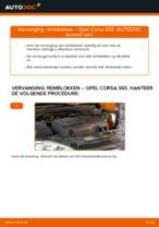 Schokbreker veranderen OPEL CORSA: gratis pdf