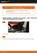 Comment changer : bougies d'allumage sur Opel Corsa S93 - Guide de remplacement