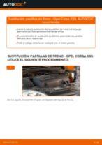 Cambio Pastilla de freno delanteras y traseras OPEL bricolaje - manual pdf en línea