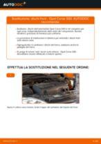 Sostituzione Kit riparazione pinza freno OPEL CORSA: pdf gratuito