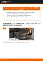 Jak wymienić klocki hamulcowe przód w Opel Corsa S93 - poradnik naprawy
