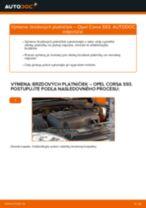 Dielňa príručka pre Opel Corsa E x15