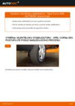 Objevte náš podrobný návod, jak vyřešit problém s Guma stabilizátoru OPEL
