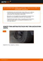 Πώς να αλλάξετε βάση αμορτισέρ εμπρός σε Opel Corsa S93 - Οδηγίες αντικατάστασης