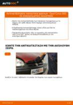 Εγχειρίδιο PDF στη συντήρηση CORSA
