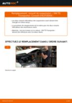 Comment changer : ressort de suspension avant sur VW T5 Transporter - Guide de remplacement