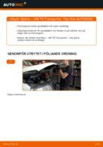 DIY-manual för byte av Fjädrar i VW MULTIVAN