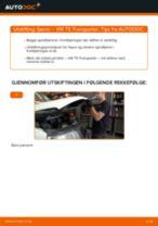 Slik bytter du fjærer fremme på en VW T5 Transporter – veiledning