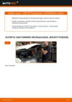 Kuinka vaihtaa jousi eteen VW T5 Transporter-autoon – vaihto-ohje