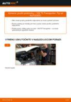 Ako vymeniť a regulovať Pružina VW TRANSPORTER: sprievodca pdf