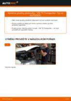 Jak vyměnit přední pružiny podvozku na VW T5 Transporter – návod k výměně
