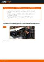 Kako zamenjati in prilagoditi Vzmeti VW TRANSPORTER: vodnik pdf