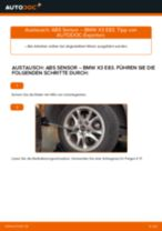 Wie Federbeinstützlager BMW X3 tauschen und einstellen: PDF-Tutorial