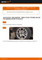 Hilfreiche Fahrzeug-Reparaturanweisung für Raddrehzahlsensor BMW